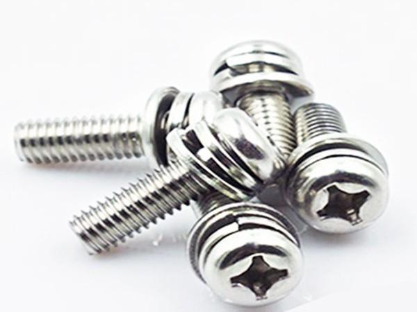 不锈钢三组合螺丝厂家