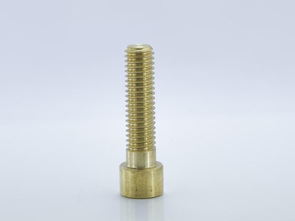 内六角圆柱头螺钉 铜螺丝 M10x40